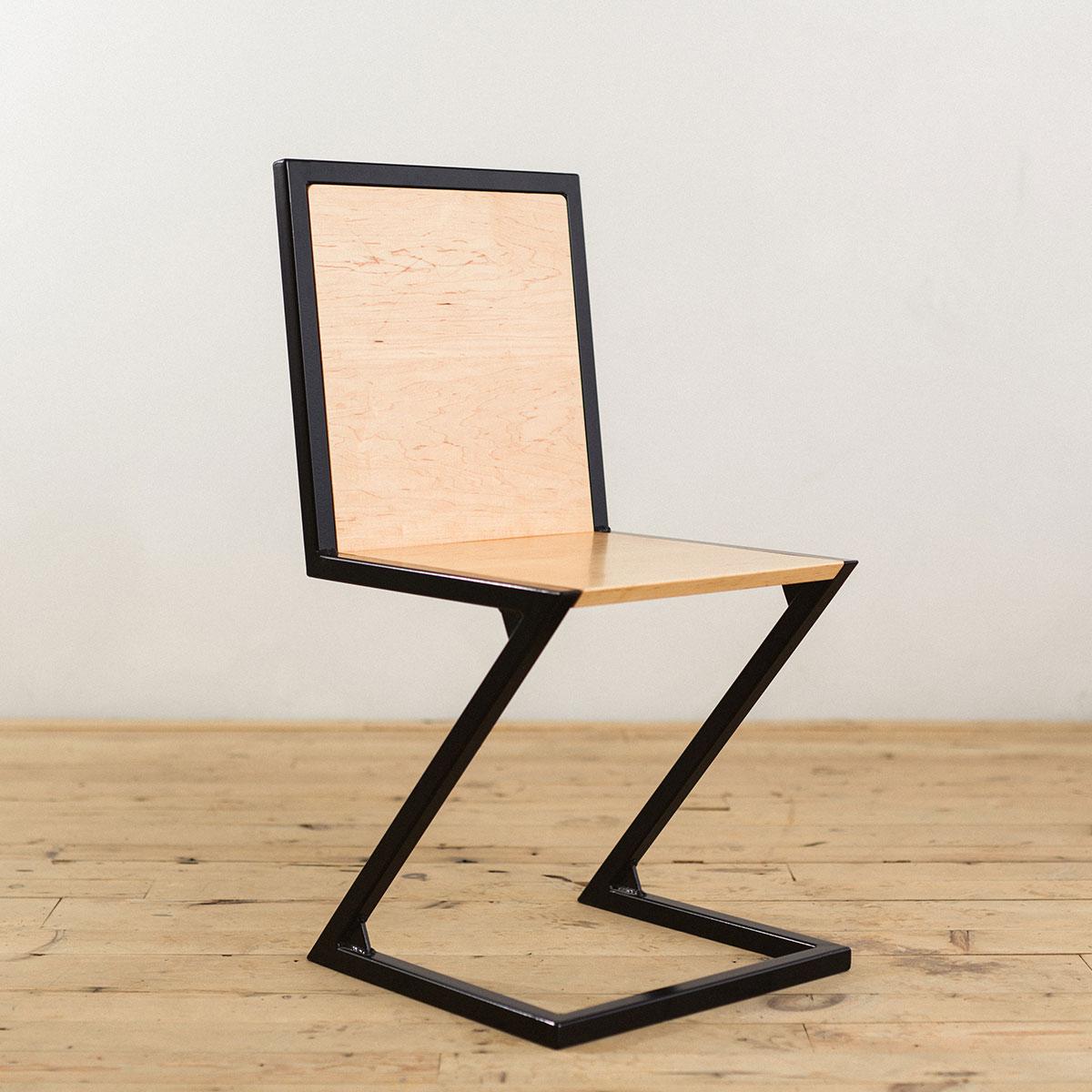 industrial-modern-steel-maple-wood-z-chair-2