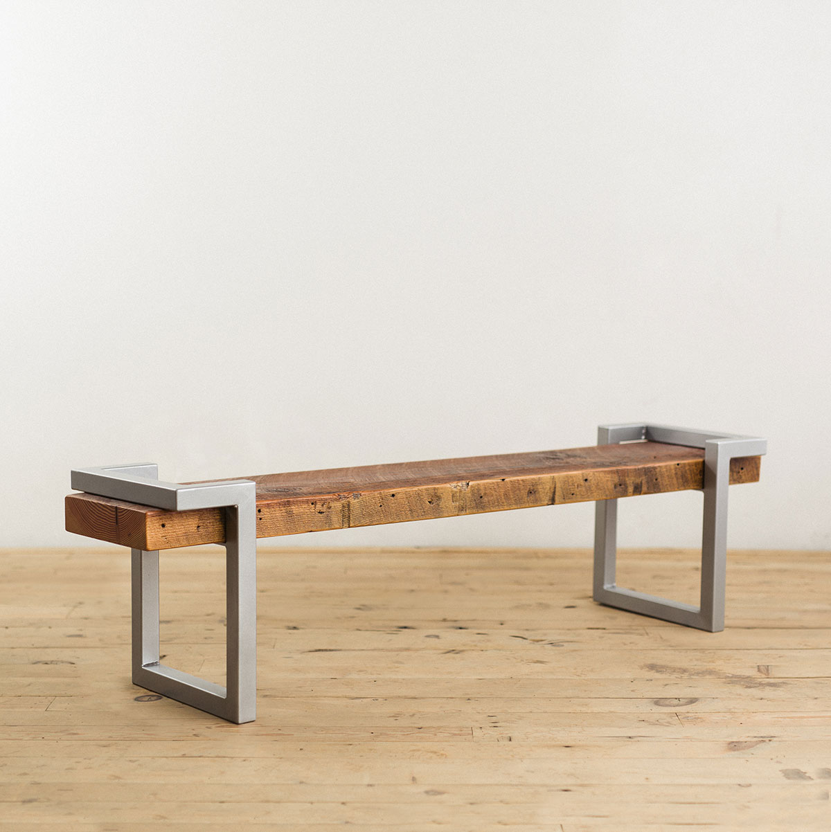 steel-salvage-barn-wood-bench-silver