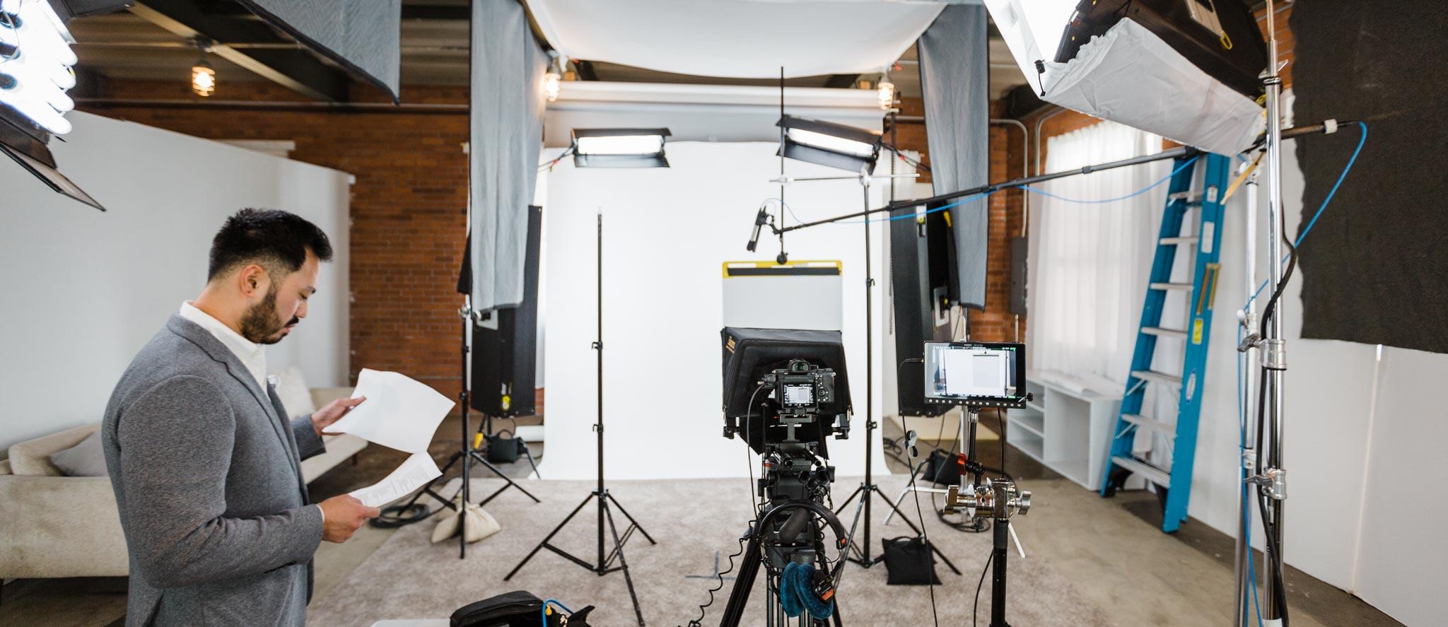 Des Moines, Iowa video production studio