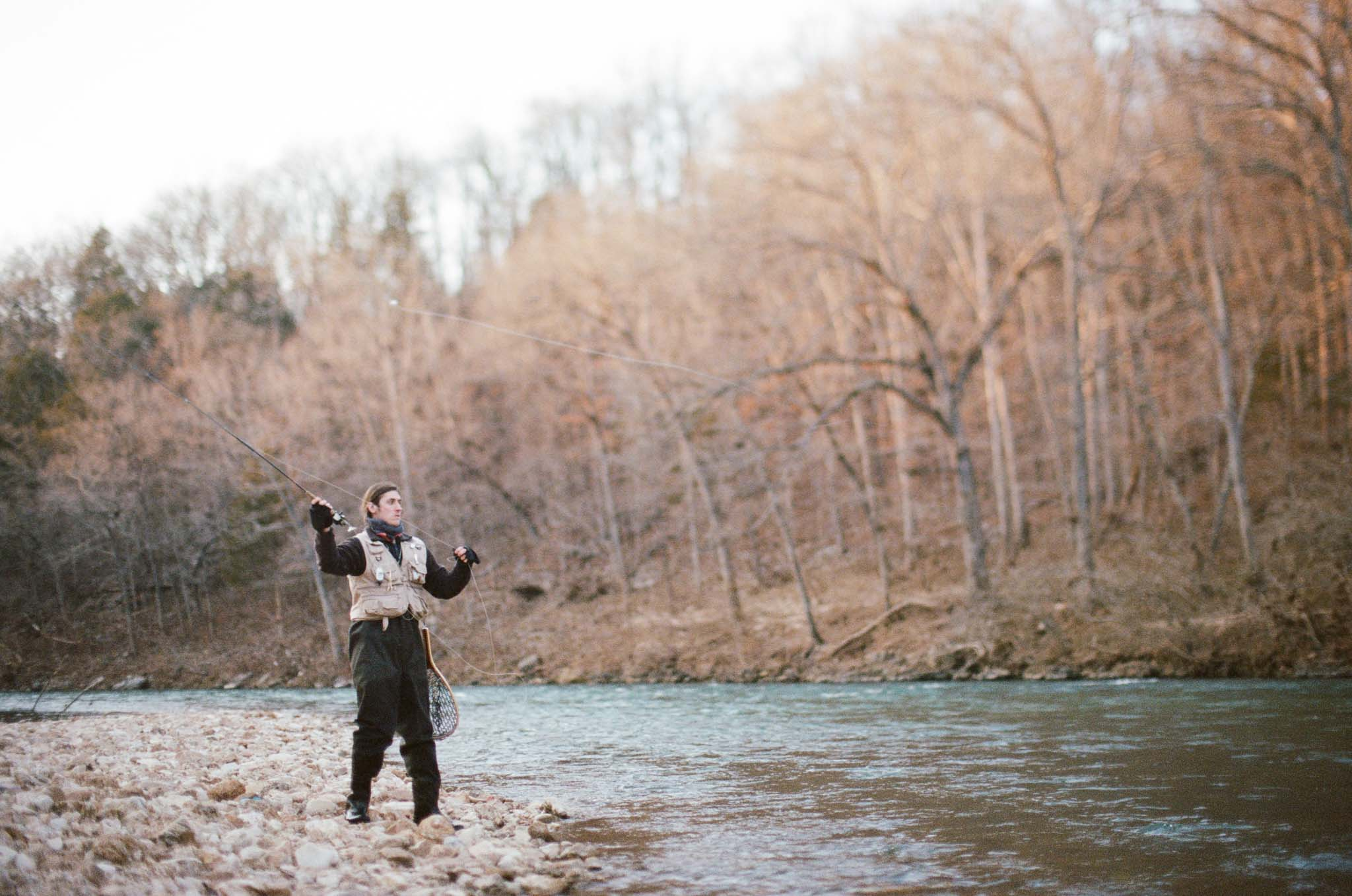 Mark twain national forest ozarks camping trout fly for Fly fishing iowa